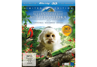 Weltnaturerbe 3D – Mittelamerika – Limited Edition (3 Disc Set) (2D + 3D Version) [3D Blu-ray]