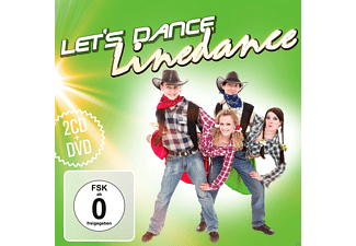 VARIOUS - Let's Dance - Linedance (2CD & DVD) - (CD + DVD Video)