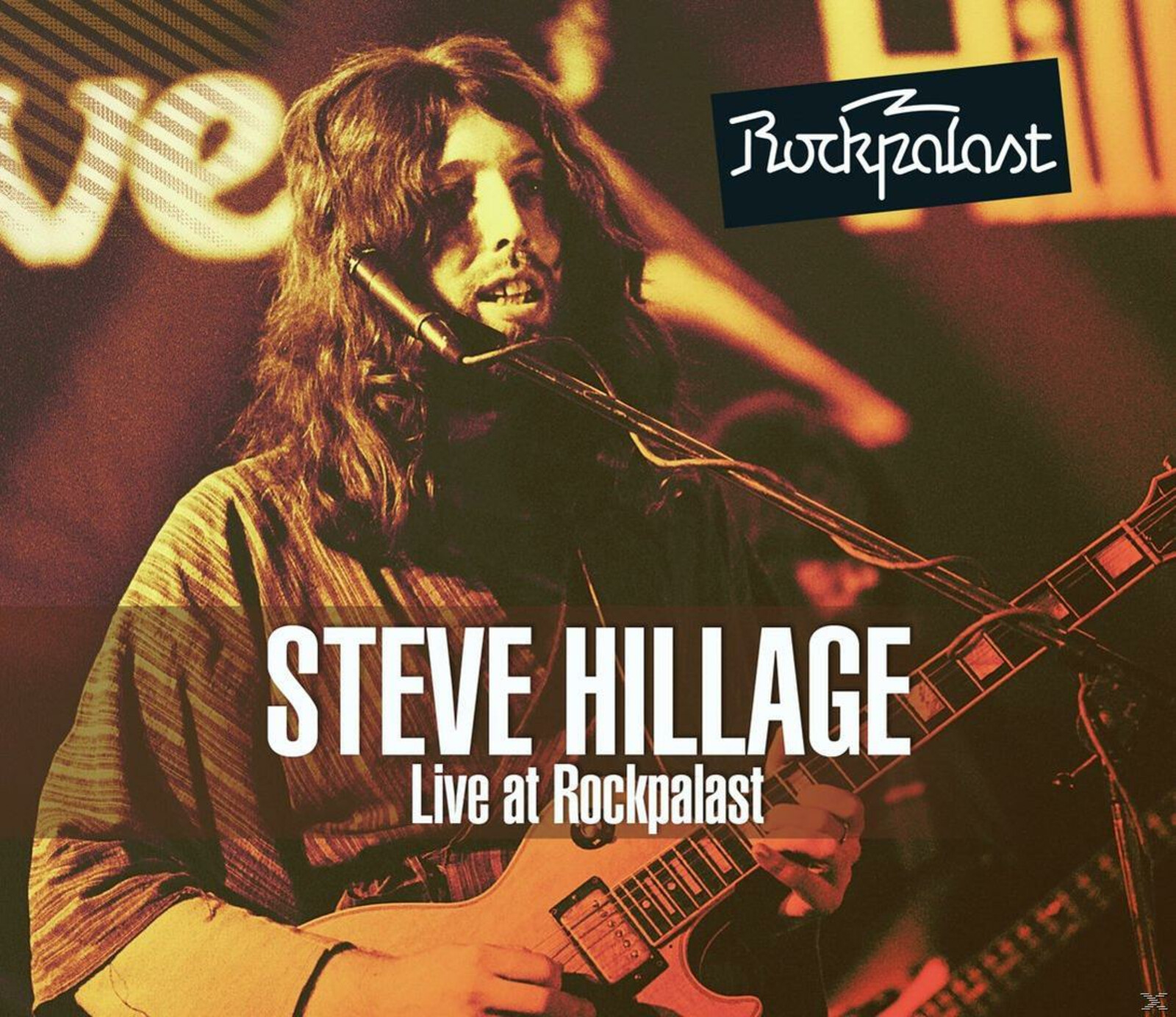 Steve Hillage - Live At Rockpalast (1977) - (CD + DVD Video)