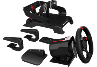 mad catz pro racing force feedback wheel mit pedalen xbox. Black Bedroom Furniture Sets. Home Design Ideas