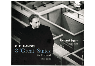 Richard Egarr - Handel: 8 'Great' Suites For Keyboard - (CD)