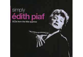 Edith Piaf - Simply Edith Piaf - 3cds From The Little Sparrow - (CD)