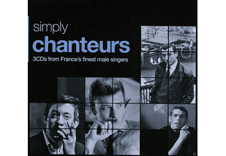 VARIOUS - Simply Chanteurs - 3cds From France's Finest Singers [CD]
