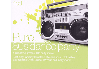 VARIOUS - Pure... 80's Dance Party [CD]