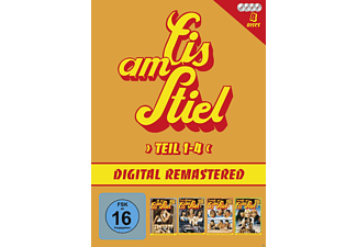 Eis Am Stiel: Box 1 - Teil 1-4 (4 Dvd) - (DVD)