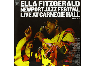 Ella Fitzgerald - Newport Jazz Festival - Live At Carnegie Hall - (CD)