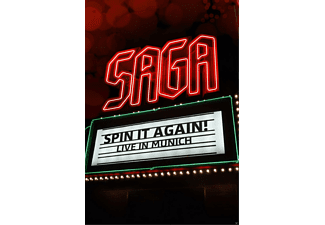 Saga - Spin It Again - Live In Munich - (DVD)
