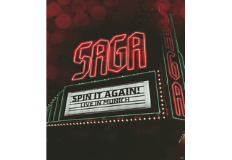 Saga - Spin It Again! - Live In Munich [Blu-ray]