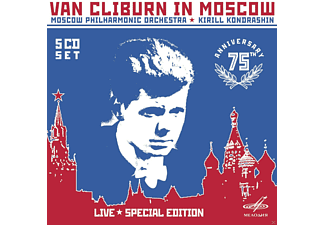 Van Cliburn, Moscow Philharmonic Symphony Orchestra - Van Cliburn In Moscow - (CD)