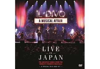 Il Divo - A Musical Affair: Live In Japan [CD]