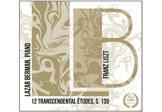 Franz Liszt, Berman Lazar - 12 Transcendental Studies - (CD)