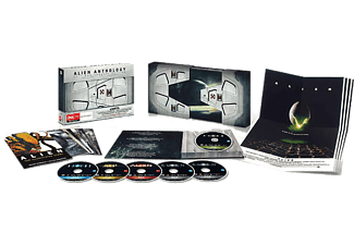 Alien Nostromo Space Doors Edition Skräck Blu-ray