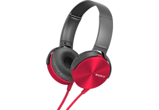 SONY MDR-XB450AP rood