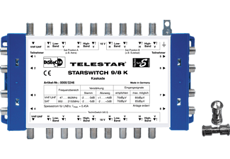 TELESTAR 5222523 Starswitch 9/8 K Multischalter