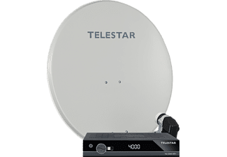 TELESTAR 5109748 Digirapid 80A 4TN + 1x TD 2300 HD+ Sat-Anlage (80 cm, Digitales Quad-LNB)