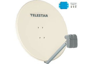 TELESTAR 5102911-0 Profirapid 85 inkl. 2 Universal-Single-LNB Satellitenantenne