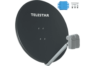 TELESTAR 5102911-3 Profirapid 85 inkl. 2 Universal-Single-LNBs Satellitenantenne