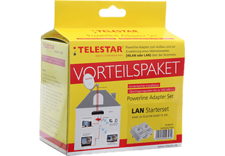 TELESTAR 5401442/1443 Digibit PW500 + Digibit PL500 Adapter
