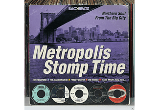 VARIOUS - Metropolis Stomp Time - (CD)