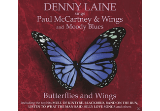 Denny Laine - Butterflies And Wings - (CD)