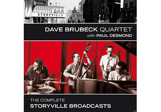 Paul Desmond, The Dave Brubeck Quartet - The Complete Storyville Broadc - (CD)