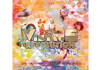 VARIOUS - The Electro Vintage Revolution Vol. 1 [CD]