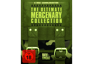 THE ULTIMATE MERCENARY COLLECTION (RAW & UNCUT) - (Blu-ray)