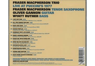 Fraser Trio Macpherson - Live at Puccini's 1977 - (CD)