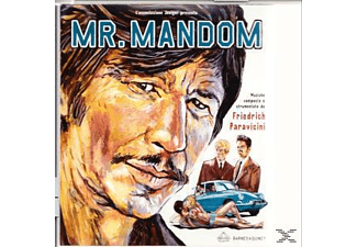 Friedrich Paravicini - Mr.Mandom - (CD)