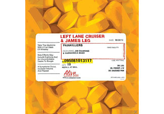 Left Lane Cruiser, James Leg - Pain Killers - (CD)