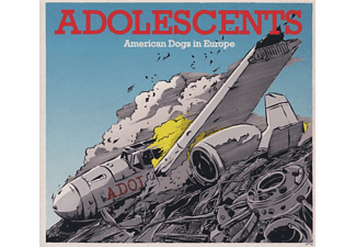 The Adolescents - American Dogs In Europe (Ep) - (Maxi Single CD)