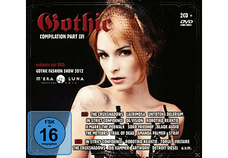 VARIOUS - Gothic Compilation 56 - (CD + DVD Video)