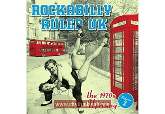 VARIOUS - Rockabilly Ruled Uk Vol.2 [CD]