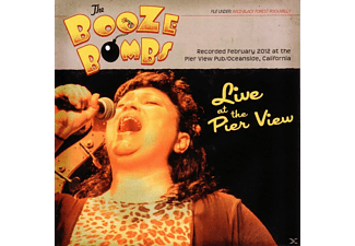 The Booze Bombs - LIVE AT THE PIER VIEW PUB - (CD)