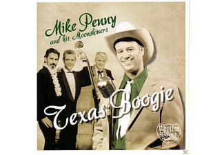 Mike Penny And His Moonshiners - TEXAS BOOGIE - (CD)