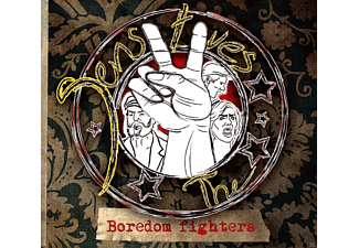 The Sensitives - Boredom Fighters - (CD)