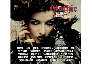 VARIOUS - Gothic Compilation 58 [CD]