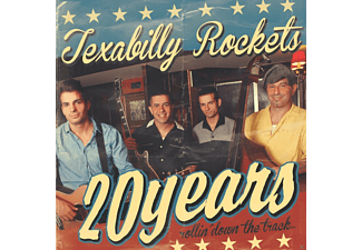 The Texabilly Rockets - 20 YEARS ROLLIN DOWN THE TRACK - (CD)