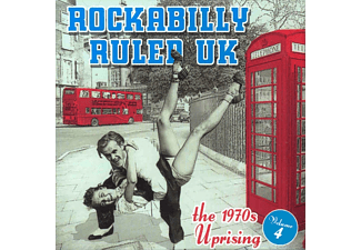 VARIOUS - Rockabilly Ruled Uk Vol.4 - (CD)