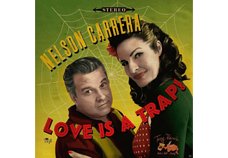 Nelson Carrera - Love Is A Trap! [CD]
