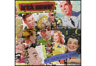Brick Mower - My Hateable Face - (Vinyl)