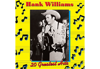 Hank Williams - 20 Greatest Hits Volume 1 - (CD)