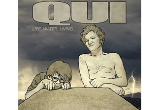 Qui - Life, Water, Living - (CD)