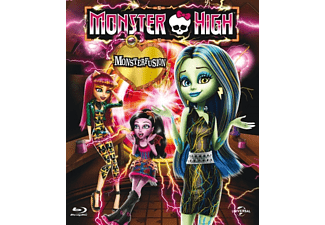 Monster High: Freaky Fusion Blu-ray