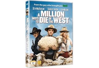 A Million Ways To Die In The West Komedi DVD