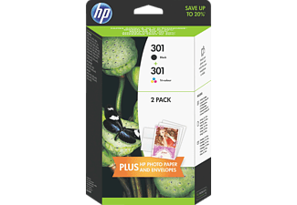 HP HPJ3M81A 301 + 301 Combo Pack