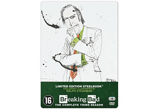 Breaking Bad - Seizoen 3 (Limited Edition Steelbook) | DVD