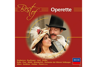 VARIOUS - Best Of Operette [CD]