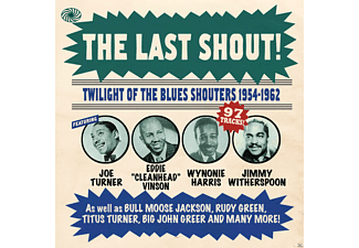VARIOUS - The Last Shout! - Twilight Of The Blues Shouters 1954-1962 - (CD)