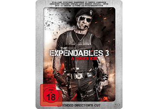 The Expendables 3 - A man´s Job (Exklusives Saturn Steelbook mit Lentikularkarte) - (Blu-ray)